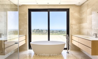 Modern new villa for sale with sea view in Benahavis - Marbella 242