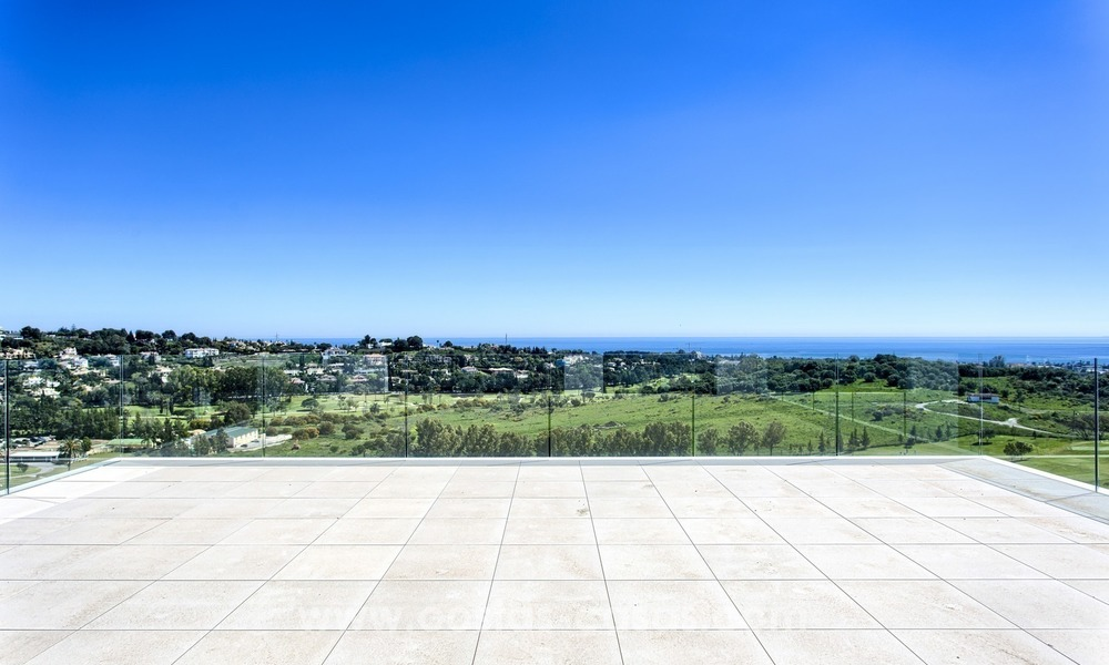 Modern new villa for sale with sea view in Benahavis - Marbella 243