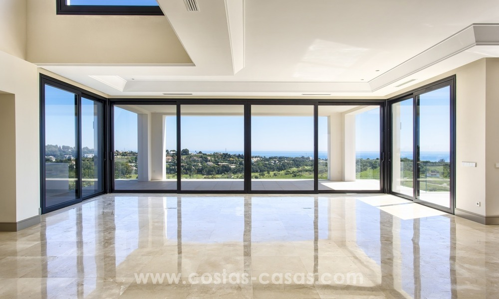 Modern new villa for sale with sea view in Benahavis - Marbella 246