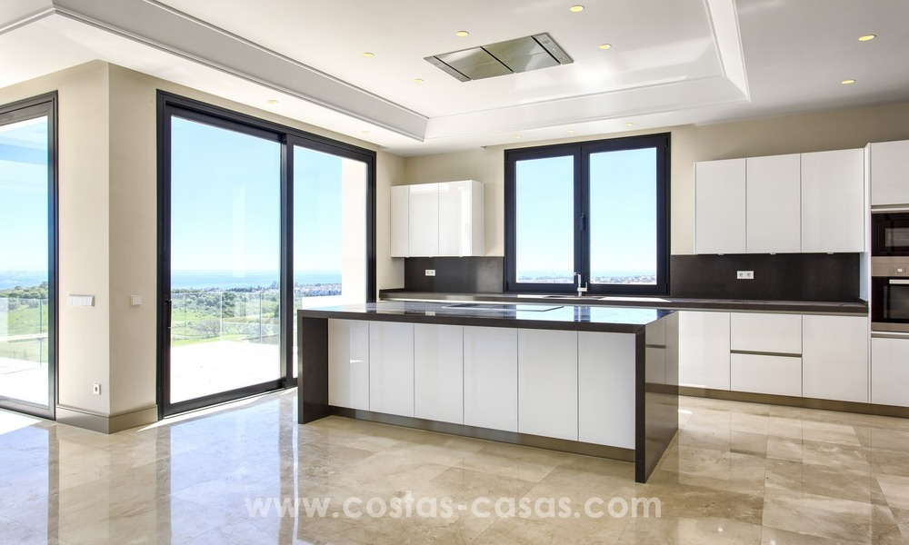 Modern new villa for sale with sea view in Benahavis - Marbella 247