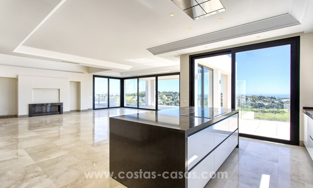 Modern new villa for sale with sea view in Benahavis - Marbella 249