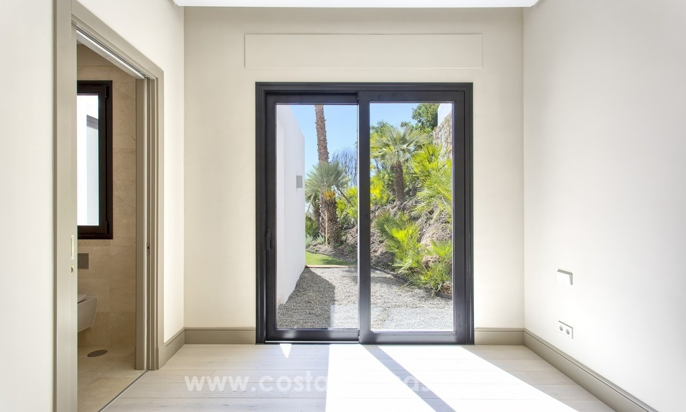 Modern new villa for sale with sea view in Benahavis - Marbella 251