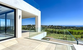 Modern new villa for sale with sea view in Benahavis - Marbella 252