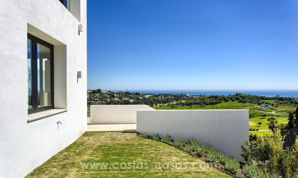Modern new villa for sale with sea view in Benahavis - Marbella 258