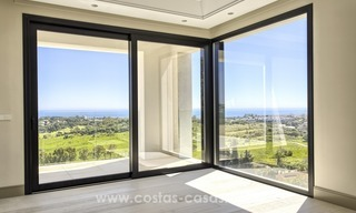 Modern new villa for sale with sea view in Benahavis - Marbella 259