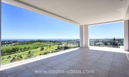 Modern new villa for sale with sea view in Benahavis - Marbella 261