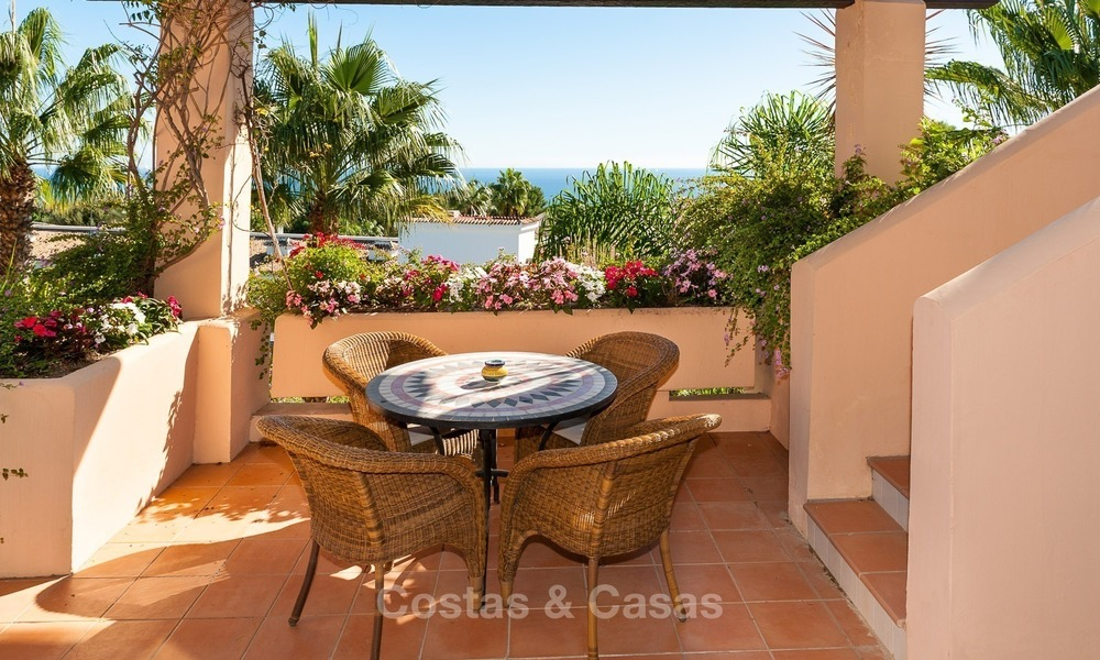 Luxury penthouse apartment for sale with panoramic sea views, Sierra Blanca, Golden Mile, Marbella 823