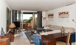 Luxury penthouse apartment for sale with panoramic sea views, Sierra Blanca, Golden Mile, Marbella 830