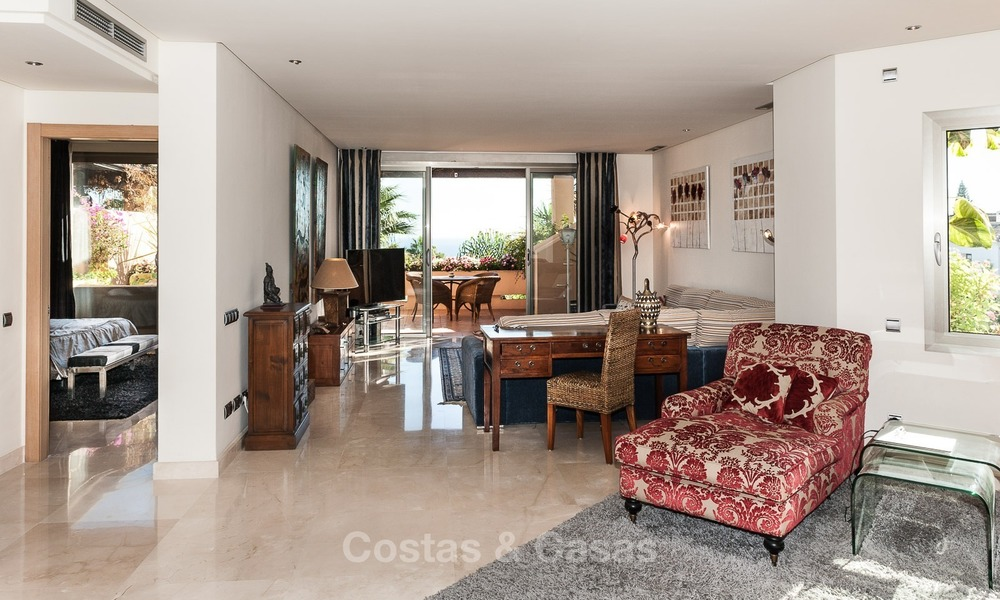 Luxury penthouse apartment for sale with panoramic sea views, Sierra Blanca, Golden Mile, Marbella 838
