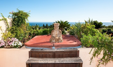 Luxury penthouse apartment for sale with panoramic sea views, Sierra Blanca, Golden Mile, Marbella 844