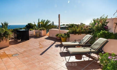 Luxury penthouse apartment for sale with panoramic sea views, Sierra Blanca, Golden Mile, Marbella 845