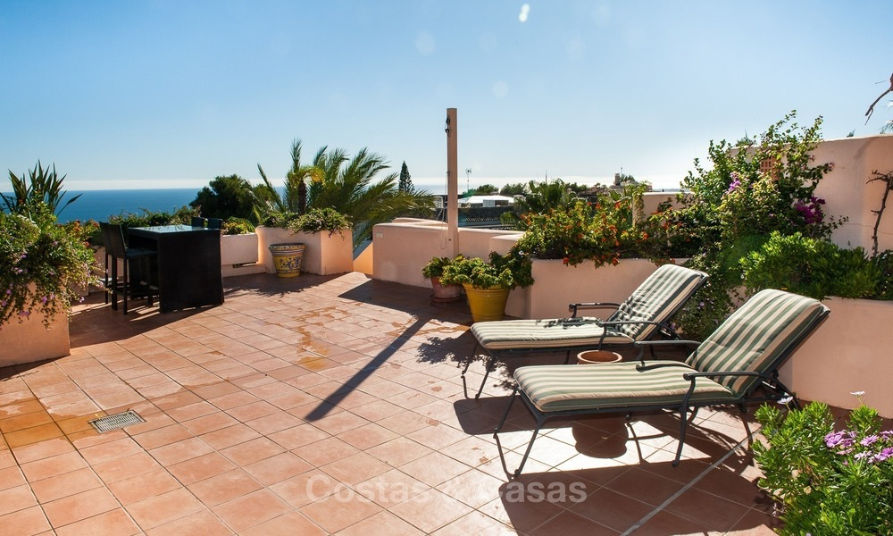 Luxury penthouse apartment for sale with panoramic sea views, Sierra Blanca, Golden Mile, Marbella 868
