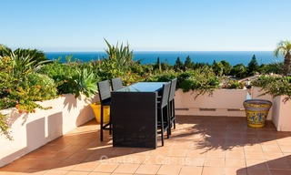 Luxury penthouse apartment for sale with panoramic sea views, Sierra Blanca, Golden Mile, Marbella 846