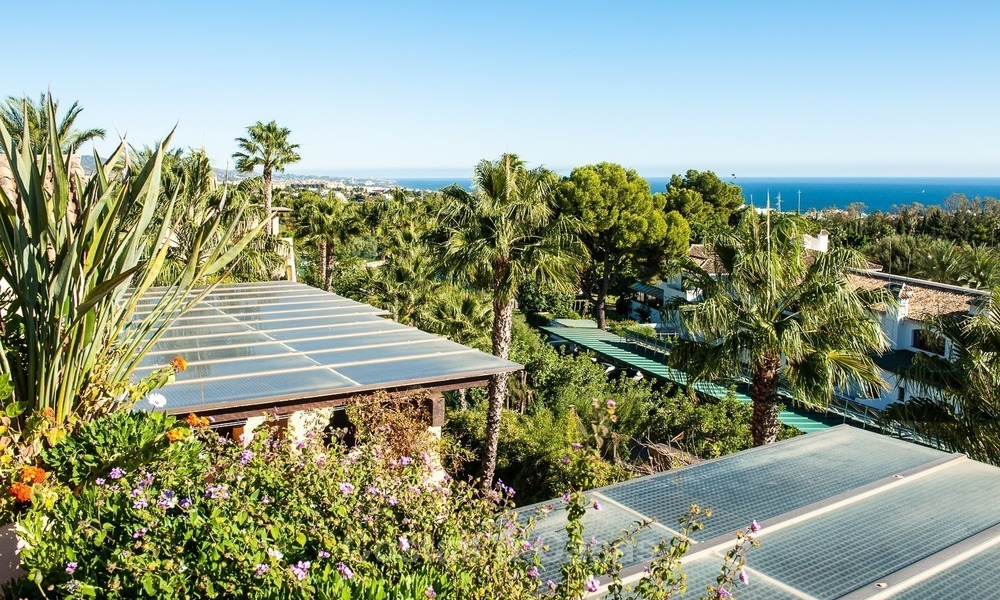 Luxury penthouse apartment for sale with panoramic sea views, Sierra Blanca, Golden Mile, Marbella 847