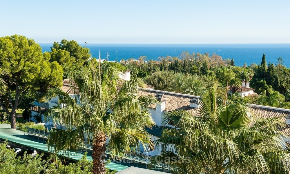 Luxury penthouse apartment for sale with panoramic sea views, Sierra Blanca, Golden Mile, Marbella 849