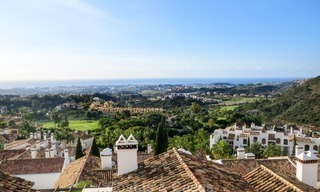 South facing detached House for sale with panoramic sea and golf views on Golf resort in Marbella - Benahavis 955