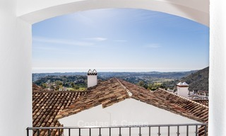 South facing detached House for sale with panoramic sea and golf views on Golf resort in Marbella - Benahavis 983