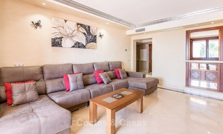 First line beach penthouse apartment for sale on the New Golden Mile between Marbella and Estepona 1002