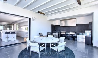 Exclusive modern villa for sale on golf resort with sea and golf views in Benahavis - Marbella 1018