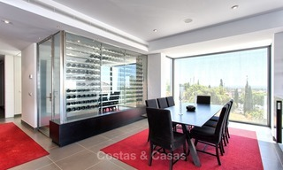 Exclusive modern villa for sale on golf resort with sea and golf views in Benahavis - Marbella 1027