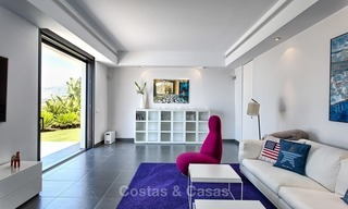 Exclusive modern villa for sale on golf resort with sea and golf views in Benahavis - Marbella 1034