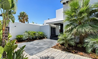 Exclusive modern villa for sale on golf resort with sea and golf views in Benahavis - Marbella 1040