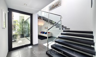 Exclusive modern villa for sale on golf resort with sea and golf views in Benahavis - Marbella 1049