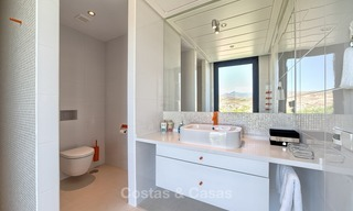 Exclusive modern villa for sale on golf resort with sea and golf views in Benahavis - Marbella 1054