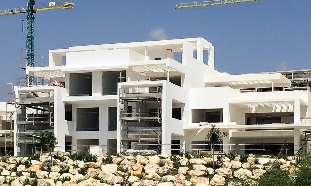 Ready to move in! New modern golf apartment for sale in the area of Benahavis - Marbella 1084