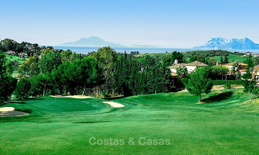 Ready to move in! New modern golf apartment for sale in the area of Benahavis - Marbella 1074