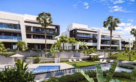 New Modern Apartments for sale in the area of Marbella – Estepona 1087