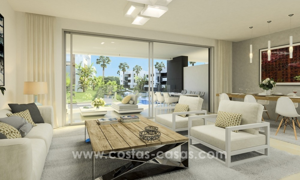 New Modern Apartments for sale in the area of Marbella – Estepona 1089