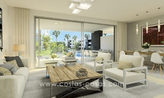 New Modern Apartments for sale in the area of Marbella - Estepona 1089