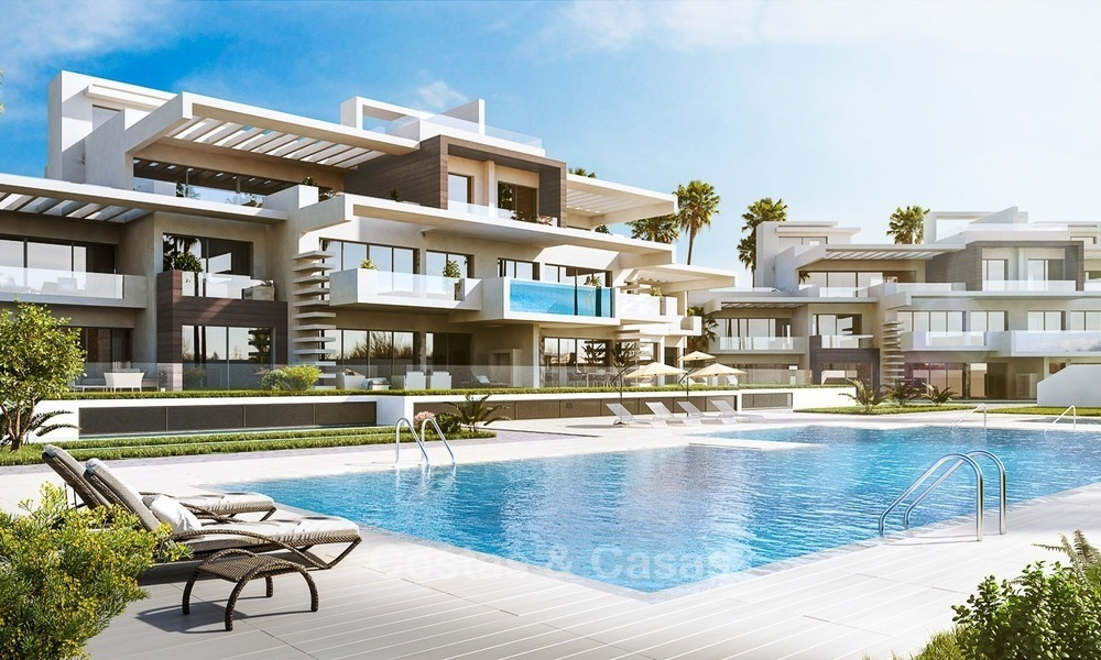 Prestigious New Development of Apartments and Penthouses for Sale on The Golden Mile, Marbella 1091