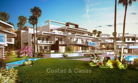 Prestigious New Development of Apartments and Penthouses for Sale on The Golden Mile, Marbella 1099