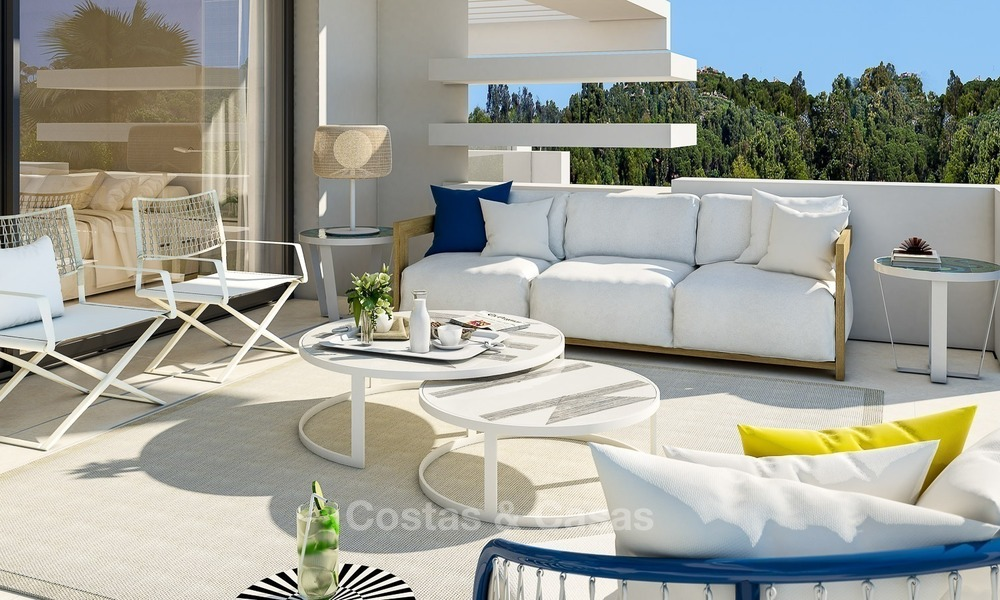Prestigious New Development of Apartments and Penthouses for Sale on The Golden Mile, Marbella 1101