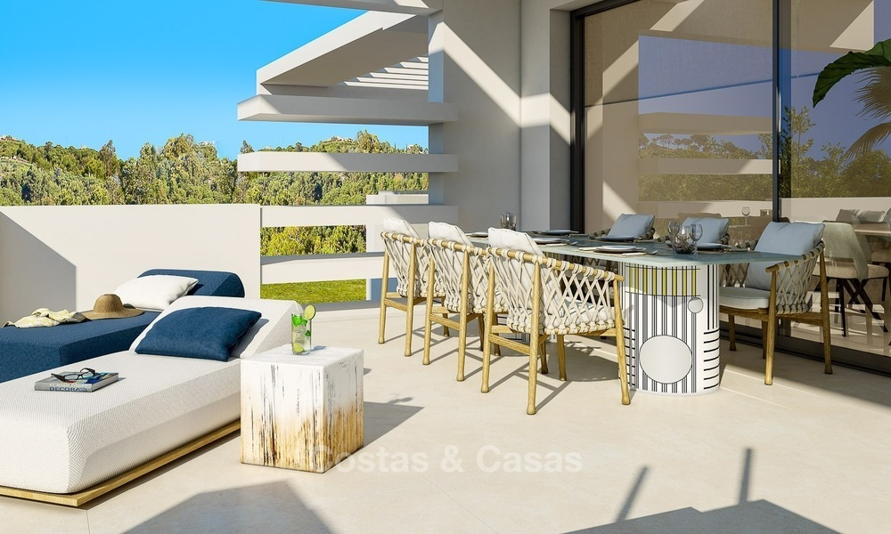 Prestigious New Development of Apartments and Penthouses for Sale on The Golden Mile, Marbella 1102