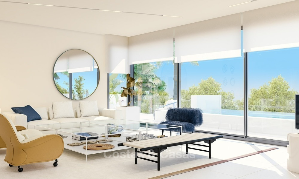 Prestigious New Development of Apartments and Penthouses for Sale on The Golden Mile, Marbella 1105