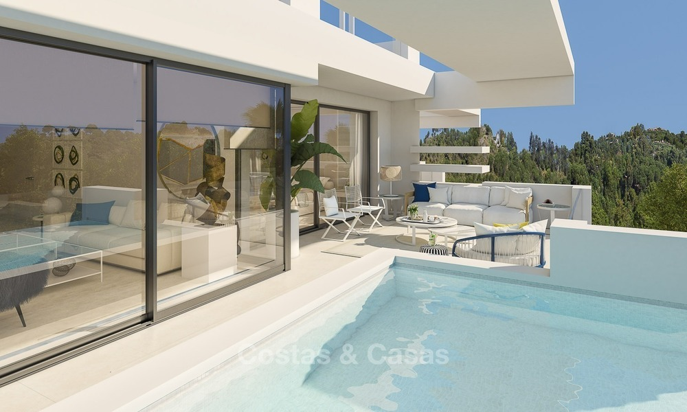 Prestigious New Development of Apartments and Penthouses for Sale on The Golden Mile, Marbella 1108