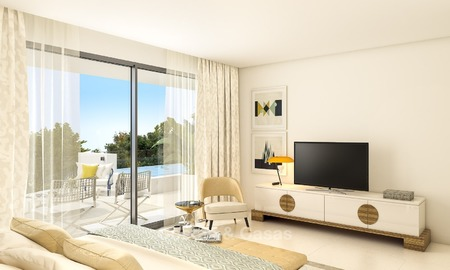 Prestigious New Development of Apartments and Penthouses for Sale on The Golden Mile, Marbella 1109