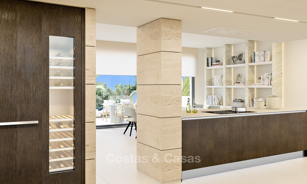 Prestigious New Development of Apartments and Penthouses for Sale on The Golden Mile, Marbella 1116