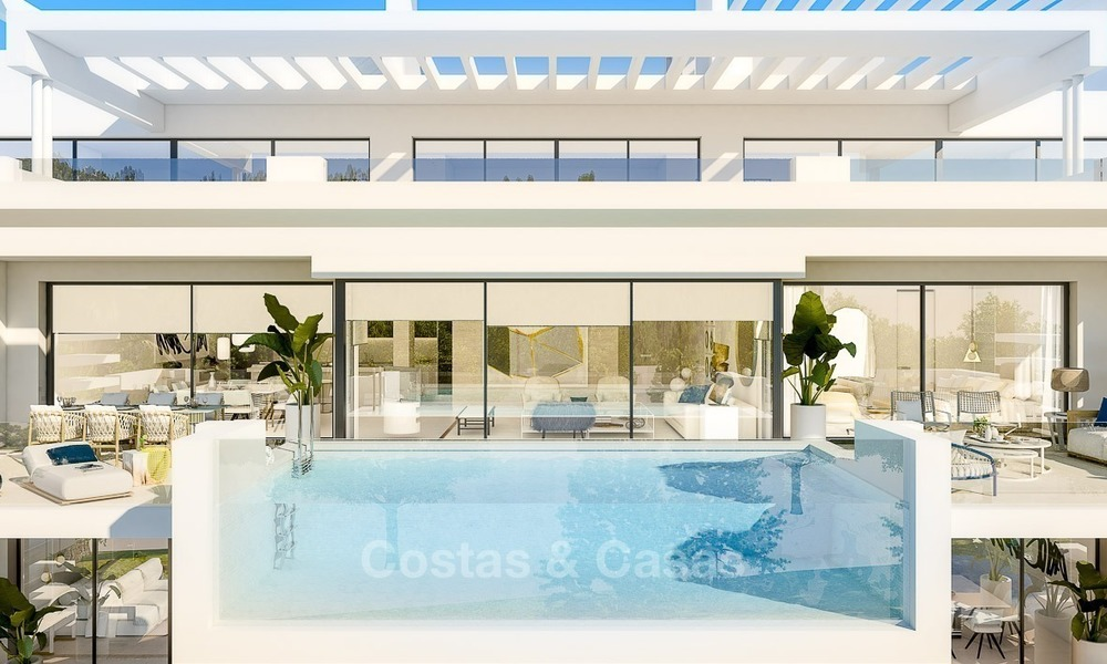 Prestigious New Development of Apartments and Penthouses for Sale on The Golden Mile, Marbella 1118