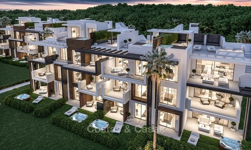 New, Modern Apartments for Sale on The New Golden Mile, short stroll to the Beach, Marbella - Estepona 1133