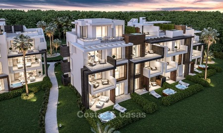 New, Modern Apartments for Sale on The New Golden Mile, short stroll to the Beach, Marbella - Estepona 1135