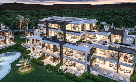 New, Modern Apartments for Sale on The New Golden Mile, short stroll to the Beach, Marbella - Estepona 1136