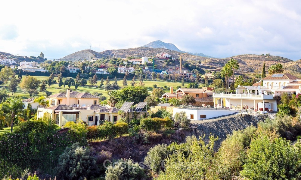 Luxury, New, Modern Villa with Sea- and Golf Views for sale in Benahavis, Marbella 1126