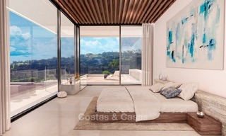 Luxury, New, Modern Villa with Sea- and Golf Views for sale in Benahavis, Marbella 1132