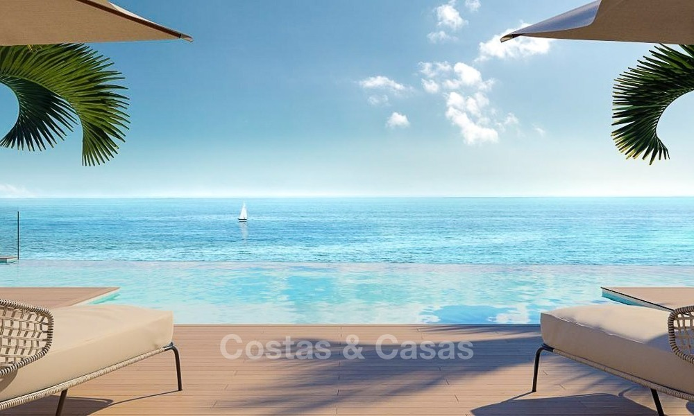 Luxurious Modern Apartments for sale, Seafront Location in Estepona 1252