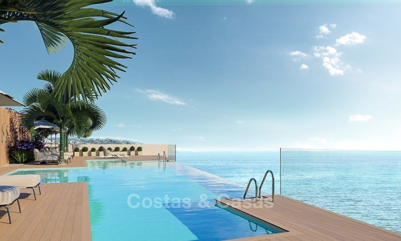 Luxurious Modern Apartments for sale, Seafront Location in Estepona 2627