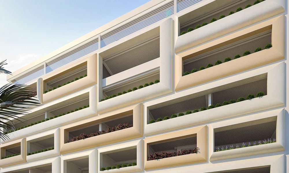 Luxurious Modern Apartments for sale, Seafront Location in Estepona 1255